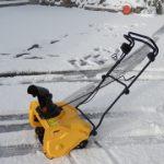 本日も雪なので除雪機のインプレッションをお届けします