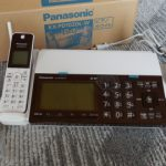 FAX付きWi-Fi対応の電話機が届いたので使用感を伝えます