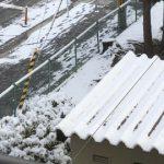 我が町は初雪しかも積雪になりました!
