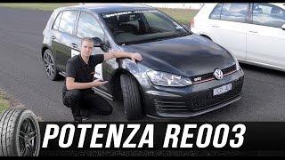 ブリヂストン POTENZA Adrenalin RE003 トラックテスト