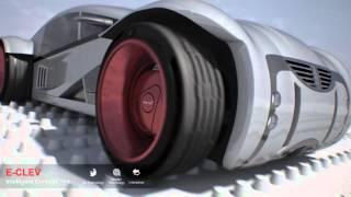 クムホ コンセプトタイヤが斬新で未来的