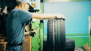 タイヤが生まれるまで トーヨータイヤ